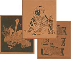 図案入り型紙「子供の日の図柄」のページヘ