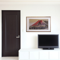 「赤富士」(¥155,520)額縁のサイズ・イメージ