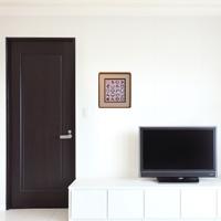 「家内安全」額縁のサイズ・イメージ