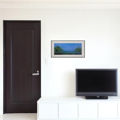 「空間」額縁のサイズ・イメージ