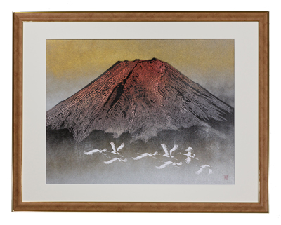 「赤富士」45,360円