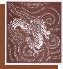 型紙付き図案:辰(たつ)