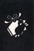 年賀状の型紙(未-2)