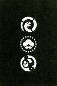 年賀状の型紙(巳-1)