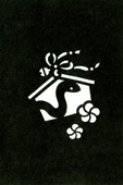 年賀状の型紙(巳-7)