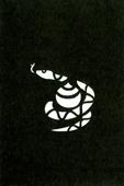 年賀状の型紙(巳-8)