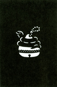 年賀状の型紙(巳-9)