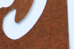 年賀状型紙「黒」(強化版)の裏面