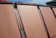渋紙の製造工程:天日乾燥